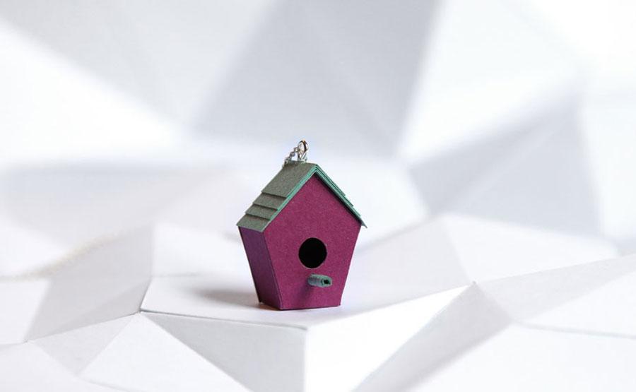 Bijoux en papier découpés au laser