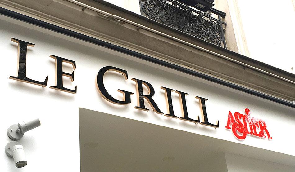 Enseigne Le Grill Astier