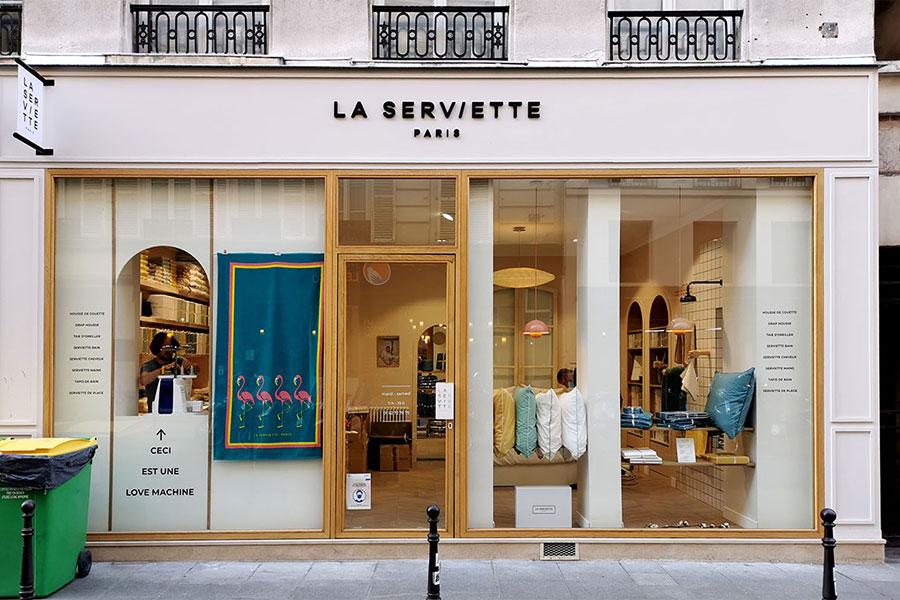 Lettres en bois - La Serviette