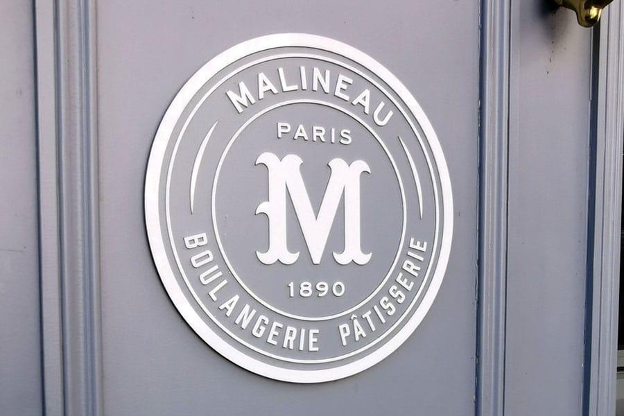 Enseigne en bois - Boulangerie Malineau