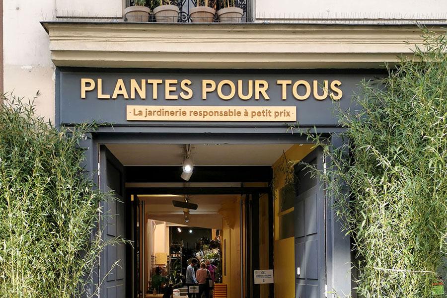 Lettres en bois - Plantes pour Tous