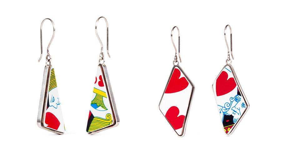 Bijoux en cartes de jeu