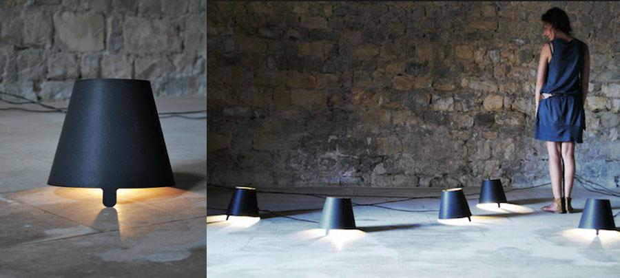 Lampes de design en découpe laser