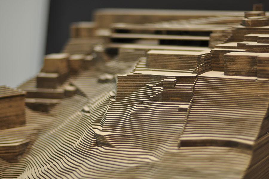 Jean nouvel design atelier figura sfondo for Maquette d architecture